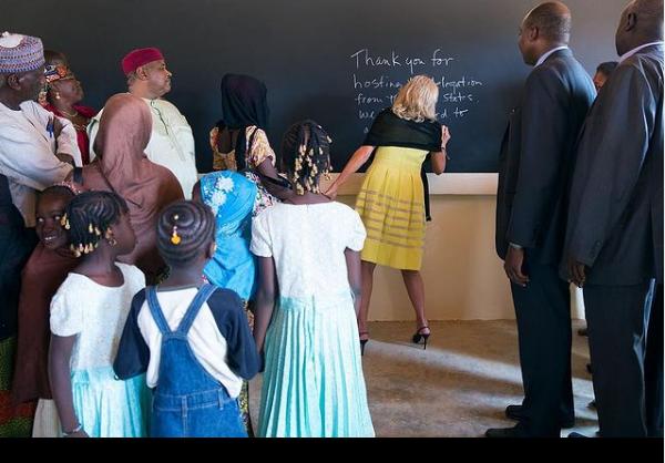 "Captura de Tela 450 - ""Eu quero que o povo valorize os professores"" diz Jill Biden que é doutora e primeira-dama americana"