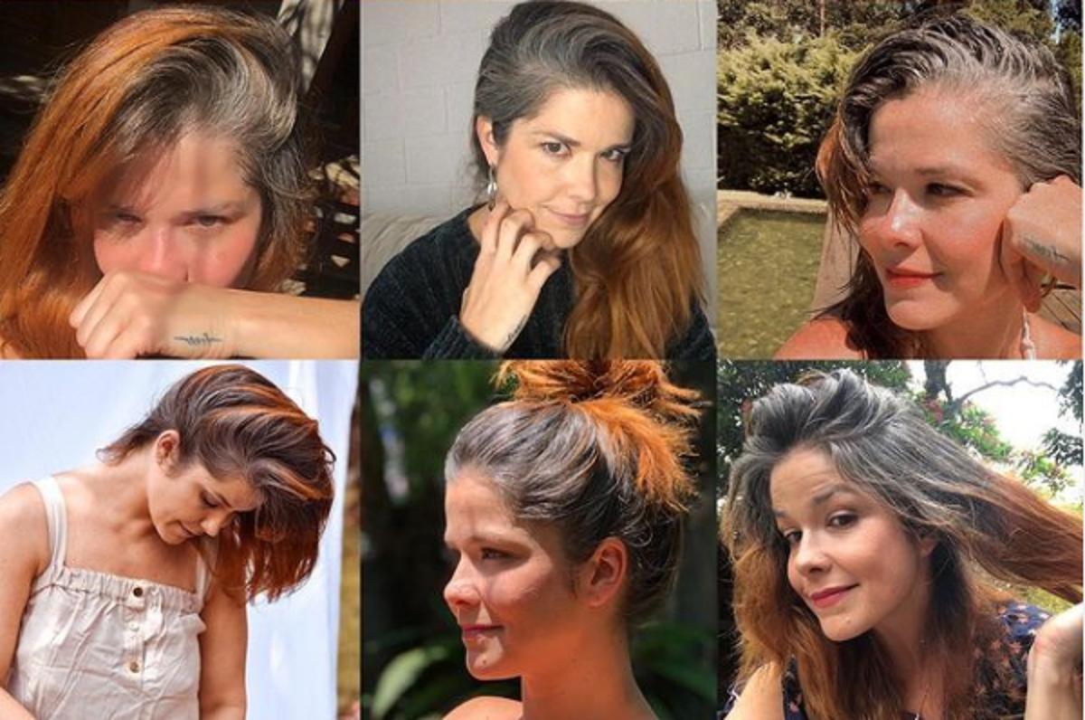 """Captura de Tela 538 - """"Me chamaram de velha e relaxada"""" lamenta Samara Felippo após assumir seus cabelos brancos"""