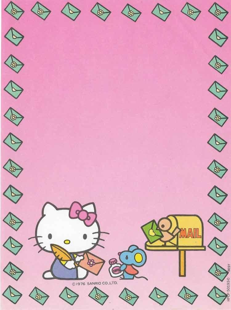 17 - Que nostalgia! 30 lindos papéis de carta que com certeza você tinha na sua coleção!