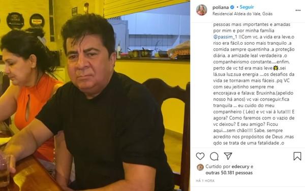 """1 5 - Morre assessor do cantor Leonardo, vítima de um tiro: """"estamos sem chão"""" lamenta profundamente"""