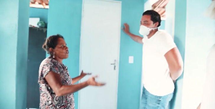 1 8 - Wesley Safadão dá uma casa mobiliada para família carente. Deu-lhes a esperança de dias melhores!