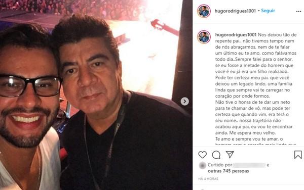 """3 6 - Morre assessor do cantor Leonardo, vítima de um tiro: """"estamos sem chão"""" lamenta profundamente"""