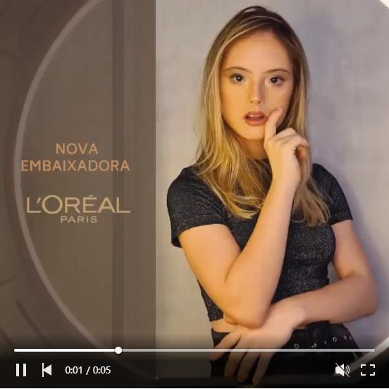 Captura de Tela 148 - Uma modelo com Síndrome de Down se tornou a 1ª embaixadora brasileira da L'Oreal