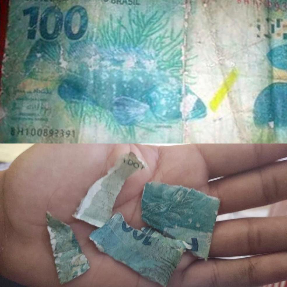 d710a851 74c7 4b5f 9764 f09c3e09c385 - Adolescente vende todos os seus doces no farol e recebe nota falsa de R$.100