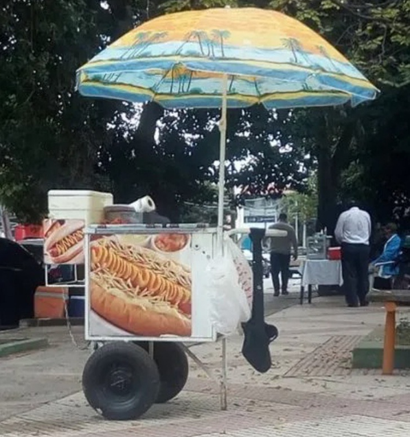 Captura de Tela 330 - Rapaz perdeu o emprego com a pandemia e se recuperou abrindo barraca de Hot Dog