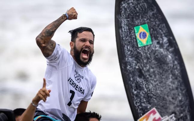 Captura de Tela 392 - Ítalo Ferreira conquista a primeira medalha de ouro para o Brasil nas Olimpíadas
