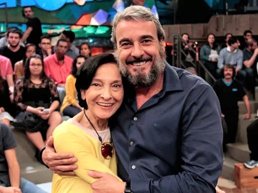 """Captura de Tela 667 - Morre a mãe de Alexandre Borges aos 83 anos em Santos: """"Ela foi muito guerreira"""", disse o ator"""
